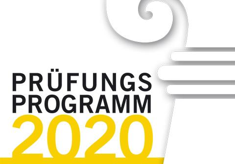 Prüfungsprogramm DH 2020