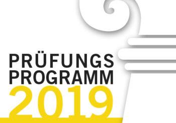 Prüfungsprogramm 2019 GID