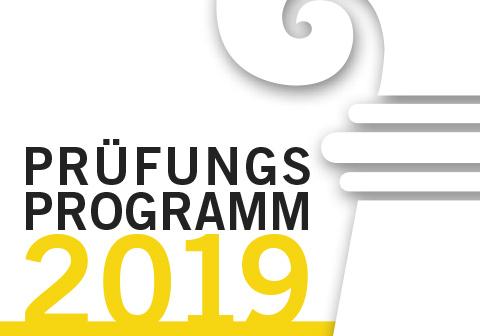 Prüfungsprogramm DH 2019